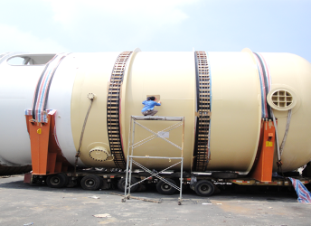 ASME steel horizontal tank