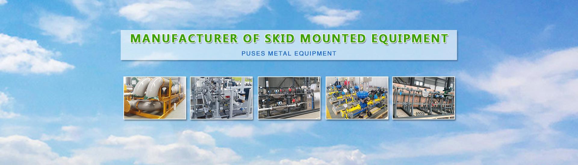 Skid mounted equipment